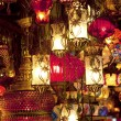 Turkish lamps at Grand Bazaar in Istanbul, Turkey — Stock Photo