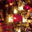 Turkish lamps at Grand Bazaar in Istanbul, Turkey — Stock Photo