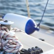Sail Boat Winch / yachting - Stock Photo
