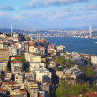 Panorama of Bosphorus  / Istanbul — Stock Photo