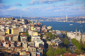 Panorama of Bosphorus / Istanbul — Stockfoto