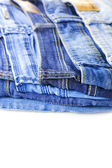 Blue Jeans isolated on white background — Stock Photo