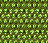Green pattern with mini 3d bubble graffiti — Stock Photo