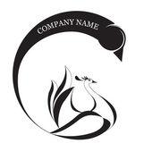 Logotype — Stock Vector