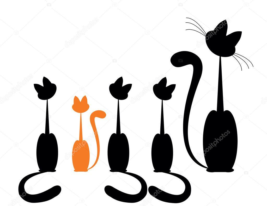 black cat vector cristiano - photo #20