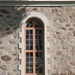 Old church window. — Stock Photo