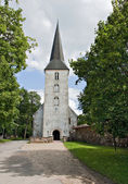 Lutheran church in Jaunpils. — Stock Photo