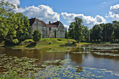 Medieval castle in Jaunpils. — Stock Photo