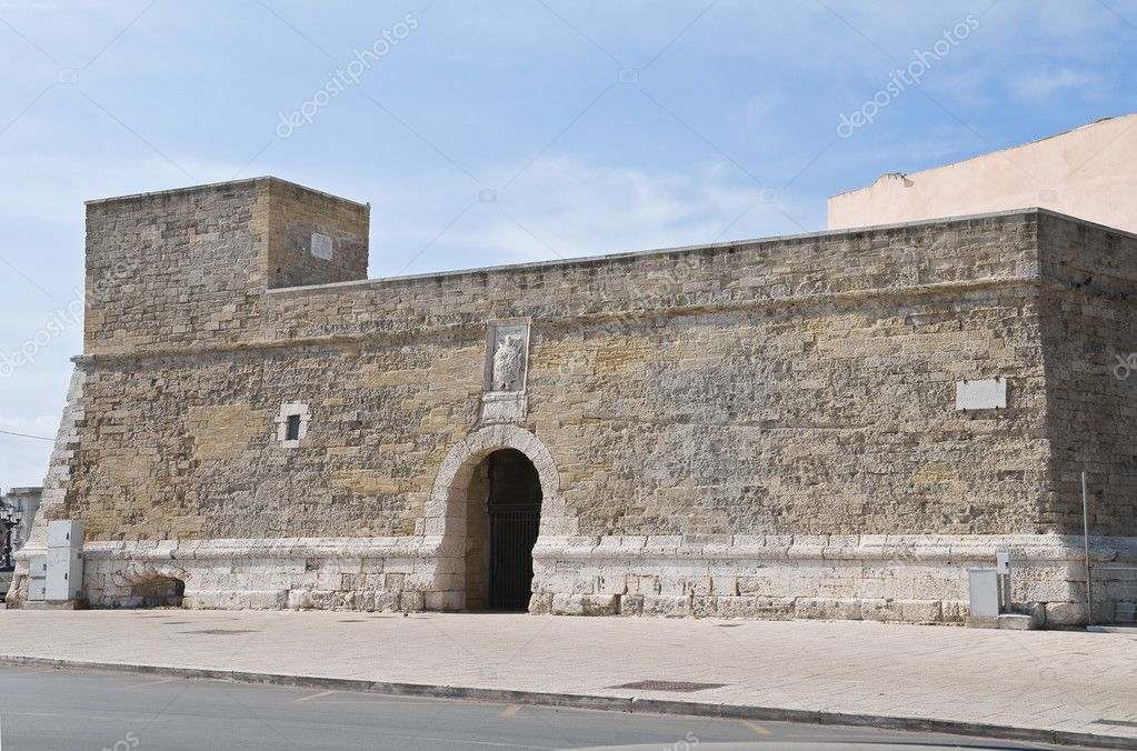 St. Antonio Fortress. Bari. Apulia. — Stock Photo #5395100