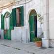 Typical house. Bari. Apulia. — Stock Photo