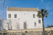 St. nicholas bazilika. bari. apulia. — Stok fotoğraf