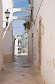 Alleyway. Locorotondo. Apulia. — Stock Photo