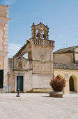 Materdomini Church. Matera. Basilicata. — Stock Photo