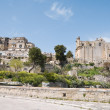 Panoramic view of Matera. Basilicata. - Stock Photo