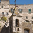 Maria SS. delle Virtu' church. Matera. Basilicata. - Stock Photo