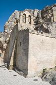Madonna de Idris Church. Matera. Basilicata. — Stock Photo