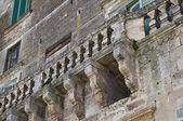 Histórico balcón. — Foto de Stock