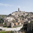 Stock Photo: Panoramic view of Matera. Basilicata.