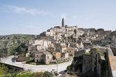 Panoramic view of Matera. Basilicata. — 图库照片
