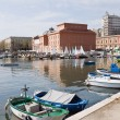 Panoramic view of Bari seafront. Apulia. — Stock Photo