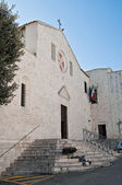 St. Bernardino Church. Molfetta. Apulia. — Stockfoto