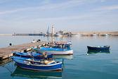 Panoramic view of Molfetta. Apulia. — Stock Photo