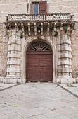 Carafa Palace. Andria. Apulia. — Stockfoto