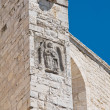 Detail of the Chatedral. Barletta. Apulia. — Stock Photo