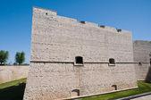 Norman swabian castle. barletta. apulia. — Stok fotoğraf