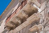 Historische balkon. — Stockfoto