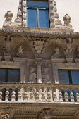 Palace Della Marra. Barletta. Apulia. — Stock Photo