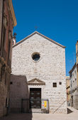 St. Pietro Church. Barletta. Apulia. — Stockfoto
