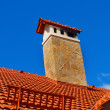 Ceramic roof — Stock Photo