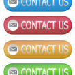 Contact Us button — 图库照片