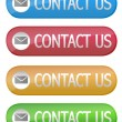 Contact Us button — Foto Stock