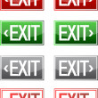 Exit sign — Stock Photo #6413886