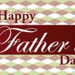 Stock Photo: Father's Day text illustration over nice background.