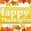 Illustration composition for Thanksgiving invitation or greeting card. Happ — Stock Photo #6414255