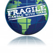 Fragile globe - Stock Photo