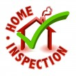 Home inspection — Stock Photo