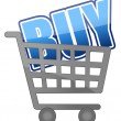 Shopping cart — Stock Photo #6415601