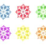 Mandala bloem — Stockfoto #6417630