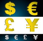 お金の通貨記号. — ストック写真