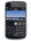 Vector cell phone / PDA / Blackberry — Stock Photo