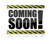 Coming Soon Sign illustration isolated over a white background. — Stock Photo
