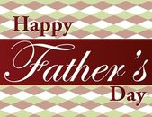 Father's Day text illustration over a nice background. — Stock Photo