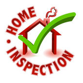 Home inspection — Stockfoto