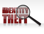 Identity theft — Stock Photo