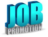 Job promotion — Stock Photo