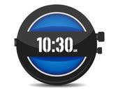 Современные часы — Стоковое фото